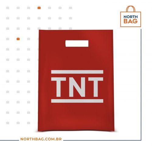 Sacola em TNT Modelo Alça Vazada